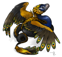 Ultrafab Feathered serpent by Mythee