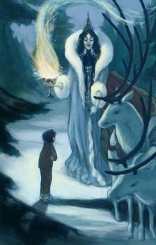 Edmund and the Witch by kelseymichele