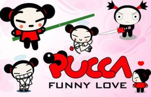 18 Funny Pucca PS Brushes by fiftyfivepixels