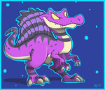 Spino Doodle by Jurassiczalar