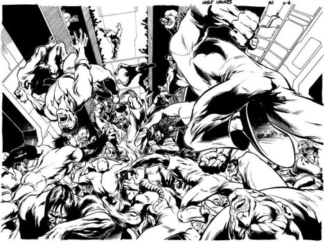 Rusty vs. everyone by Cinar