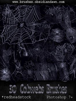 GIMP Cobwebs Brushes by Project-GimpBC