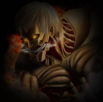 The Armored Titan by Jaggerwolf08