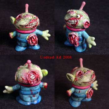 Toy Story  Green man Zombie by Undead-Art