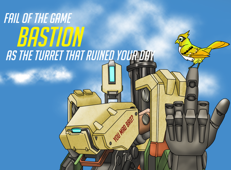 Fail of the Game: Bastion!!! by Hrdcoreartist