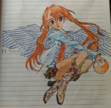 Diary Anime by MahuaSarkar