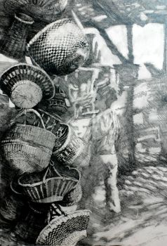 Woven Baskets by spidol