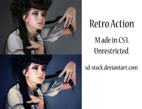 Retro Action by sd-stock
