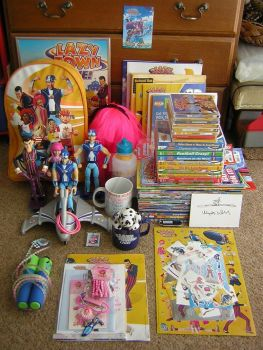 Part Of My LazyTown Collection by WLIIAmg