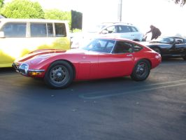 classic Toyota 2000GT by mburleigh8