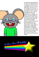 The More You Know: Shy People by troyhoward