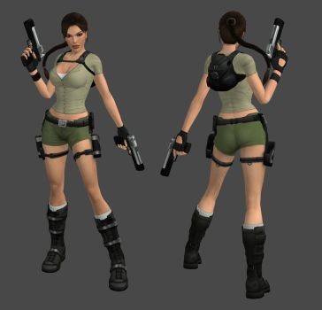 Lara Croft Adventurer Outfit by spuros12 by spuros12