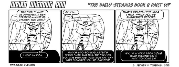 The Daily Straxus Book 2 Part 141 by AndyTurnbull