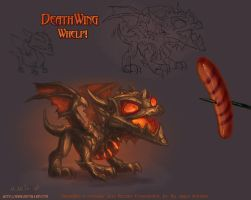 Cataclysm DeathWing Whelp by The-SixthLeafClover