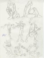 Action Poses by Tempest-Lavalle