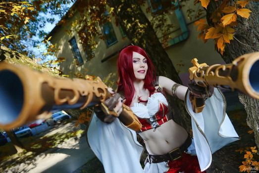 Miss Fortune cosplay by magmasaya