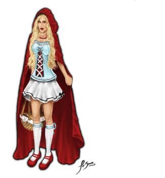 Red Riding Hood design by Jolene-eSousa