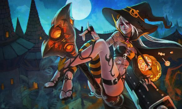 Halloween Jinx by MonoriRogue