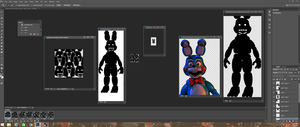The making of shadow Bonnie march by Jupiterjumper2