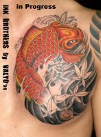 Carpa giapponese by indiantattoo on deviantart for Koi 5 vigyapan in hindi