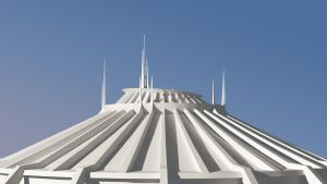 Space Mountain - Day by louiemantia