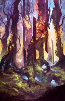Color  Forest By Zicuta by WorldEdgeDesign
