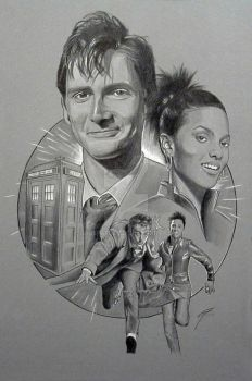 Doctor Who by GabeFarber