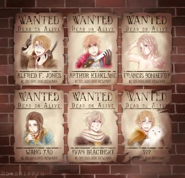 WANTED Dead or Alive by Hokorippen