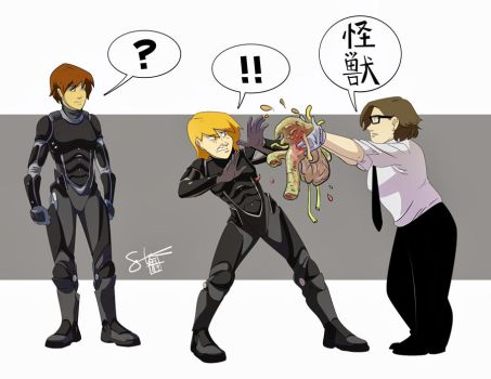 A.K.A. - Pacific Rim'd by ComickerGirl