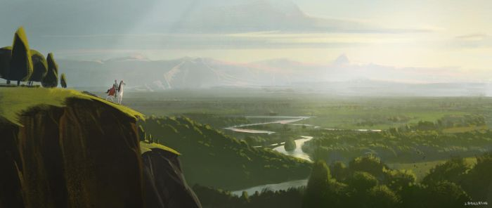 The land beyond by JeremyPaillotin