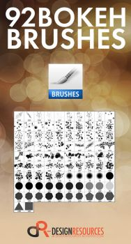 92 Bokeh Brushes by FakeFebruary