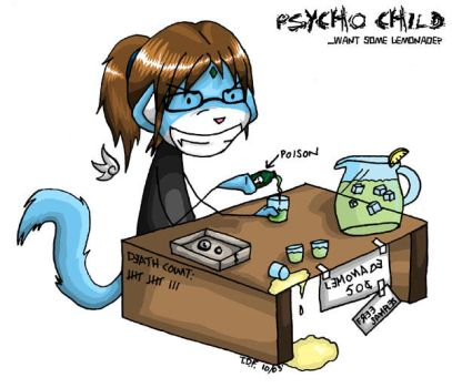 PSYCHO CHILD by shiirumai