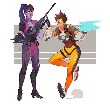 Widowtracer [com] by Sutexii