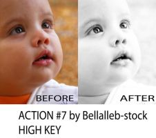 photoshop action no.7 HIGH KEY by bellalleb-stock