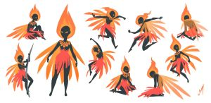 flying match aka fire fairy by miss-dronio