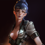 Widowmaker - Talon Skin by raikoart