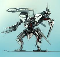 Quick Mech Concept by TitikAwalCreative