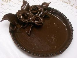 Chocolate Plate by tini