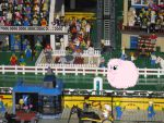Fluffle Puff in LEGO land by angela808