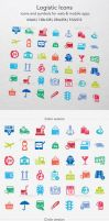 Logistic Icons by ottoson