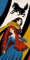 ASOIAF Bookmark by Vestergaard