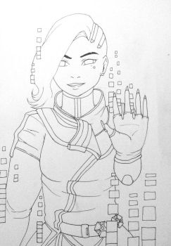 Sombra lineart by BabyB01