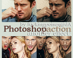PS action 06 + psd by fuckingPOISON