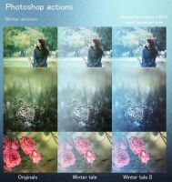 Winter Photoshop Actions by aoao2