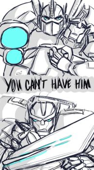 TFP: You Can't Have Him by Fulcrumisthebomb