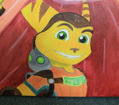 Childhood:  Ratchet and Clank by Raspberrythebat55
