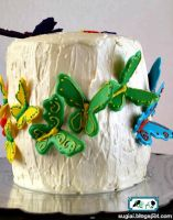 Rainbow Butterfly Cake4 by SugiAi