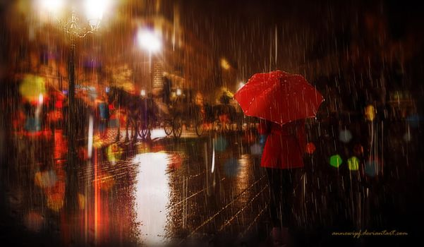Memories of a Rainy Night by annewipf