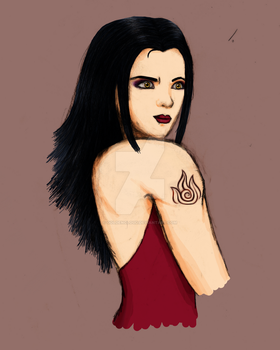 Azula, Princess of the Fire Nation by Goldencloud