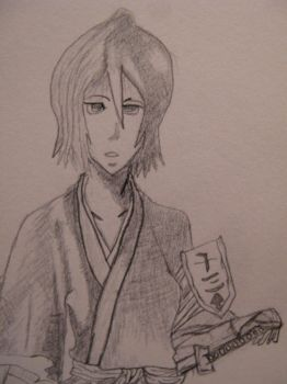 Rukia by Lady-Of-The-Pen